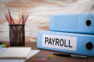 Medium payroll binder