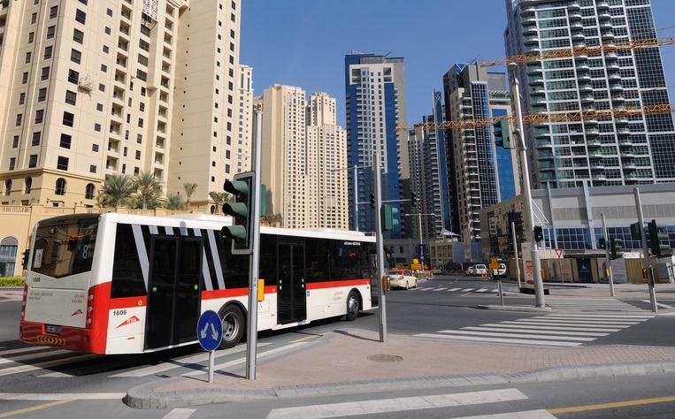 Dubai area bus riders receive public Wi-Fi access