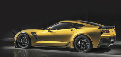 The best and most expensive sports cars in the world are hybrids, so it makes sense that Chevrolet would want to get in on the action. This is the current Corvette Z06. Perhaps an electrified car would carry the