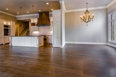 Home design is moving to having open floor plans as a standard feature in new constructions.