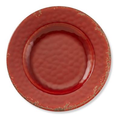 Rustic Melamine Salad Plates, set of 4: $43.95