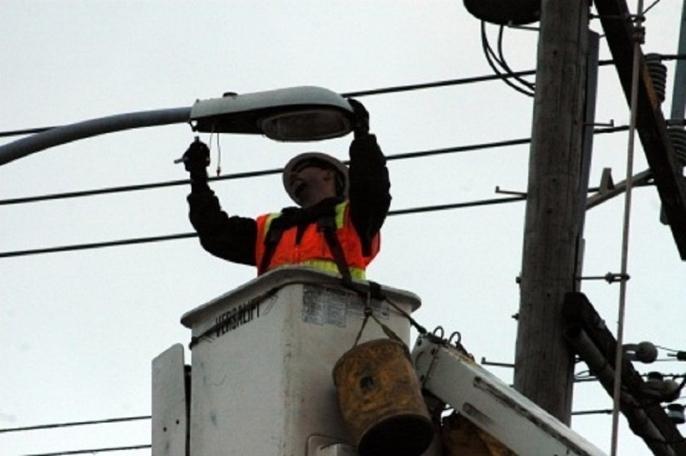 The bill allows wireless providers to use streetlights, traffic signals and other utility poles.
