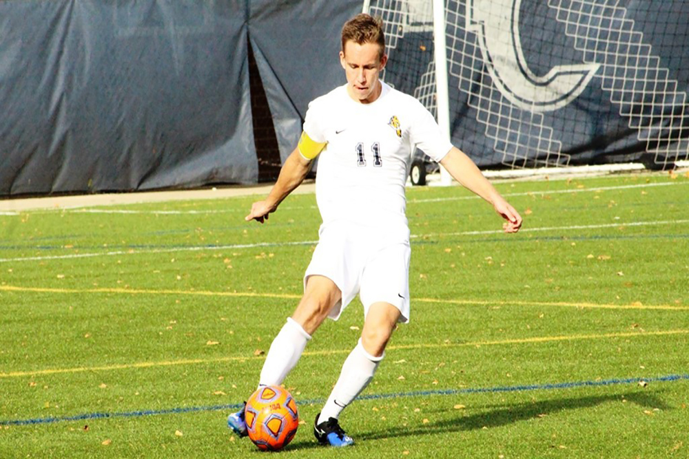 The Augustana men's soccer team finished the year with a 2-12-2 record.