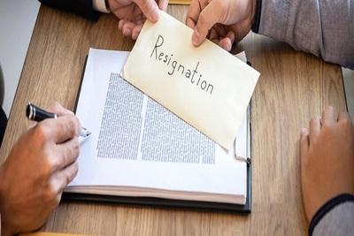 Medium resignation