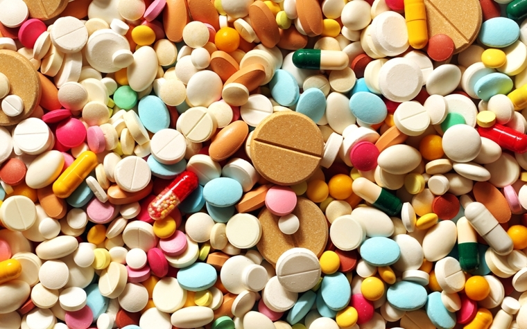 Painkiller pills