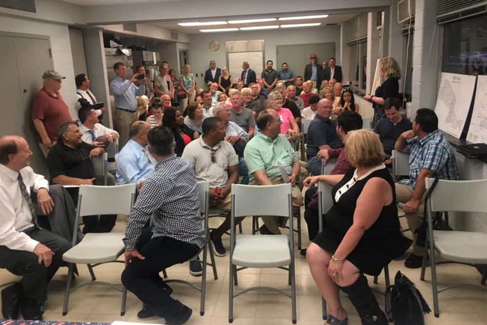 The Northwest Side GOP Club, which is supporting Kerri Urbanski's bid for 45th Ward Republican Committeewoman, recently held its petition drive kickoff for Urbanski and three other ward committeeman candidates.