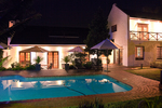 Pool safety is greatly enhanced by a well-lit night time environment.