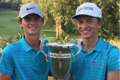 Anthony Ruthey (right) and Tyler Bussert (left)
