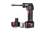 The Oasser tire inflator is compact and easy to use.