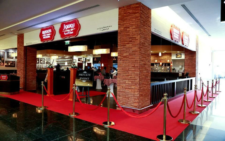 Russo's New York Pizzeria is opening a branch at Dalma Mall in Abu Dhabi.