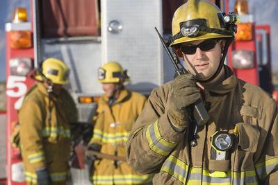 Medium firefighters