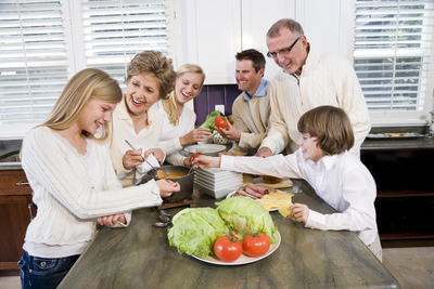 There are many ways to accommodate multiple generations living under one roof.