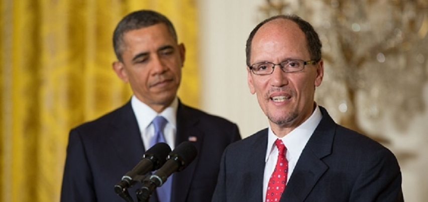 Labor Secretary Thomas E. Perez and President Barack Obama are seeking to expand the pool of workers eligible for overtime pay.