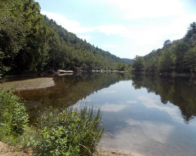 Lake Austin offers many opportunities for water-related activity, including fishing.