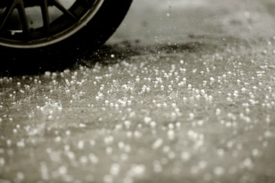 The advantage of salt is that it helps melt snow.