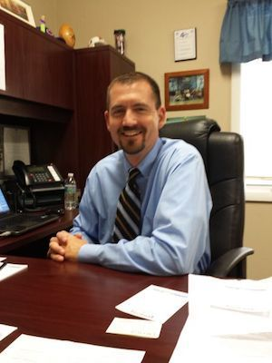 Knoxville Community Unit School District 202 Superintendent Steve Wilder