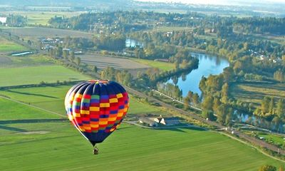 Hot air balloon tours give visitors a chance to explore Snohomish County from the air.