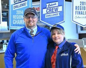 Ron and Debbie Dalrymple run Romeoville's Culver's franchise.