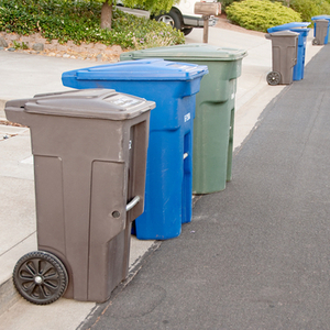 Howie's Trash Service specializes in providing reliable curb-side service for trash and recycling.