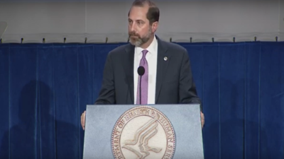 Health and Human Services Secretary Alex Azar