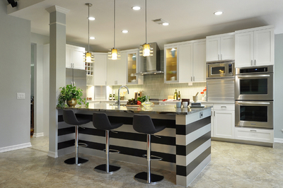 Marvelous A Bar Or Kitchen Island Can Provide More Seating For Family And Guests.