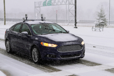 Self-driving cars are being tested in clear weather, but the technology is negatively affected by falling snow. Roughly 70 percent of U.S. residents live in snowy areas.