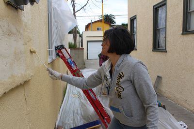 Volunteering with Habitat for Humanity can be a starting point for picking up useful home improvement skills.