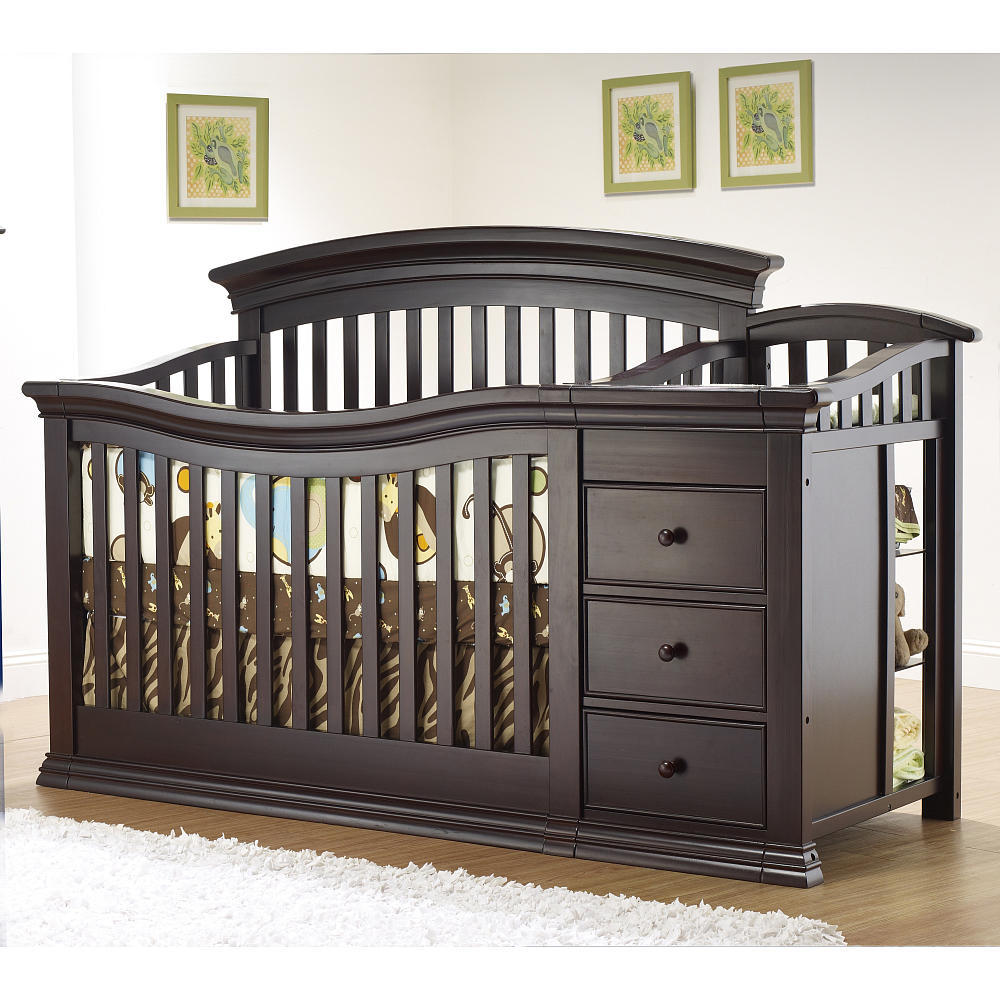 Cribs that convert to toddler beds and then full-sized beds may cost a little more up front, but can be used for the life of your child and he or she grows.
