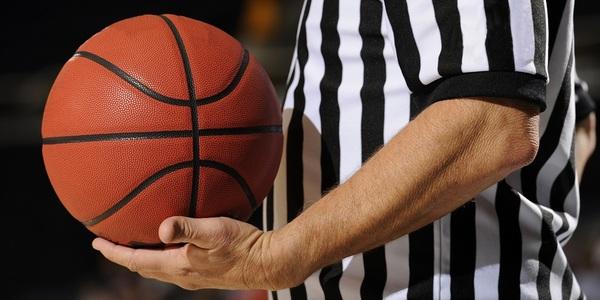 Large basketballreferee