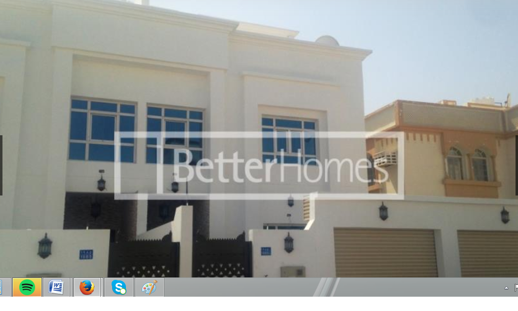 A six bedroom, eight bathroom twin villa is now available in Azaiba South