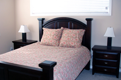 Keeping it simple but comfortable is the best route for a dedicated guest bedroom.