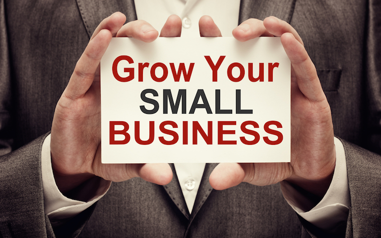 A way for small businesses to grow is to export internationally.