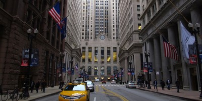 Medium chicago board of trade building