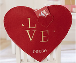Valentine's Day Love Heart Chaircover