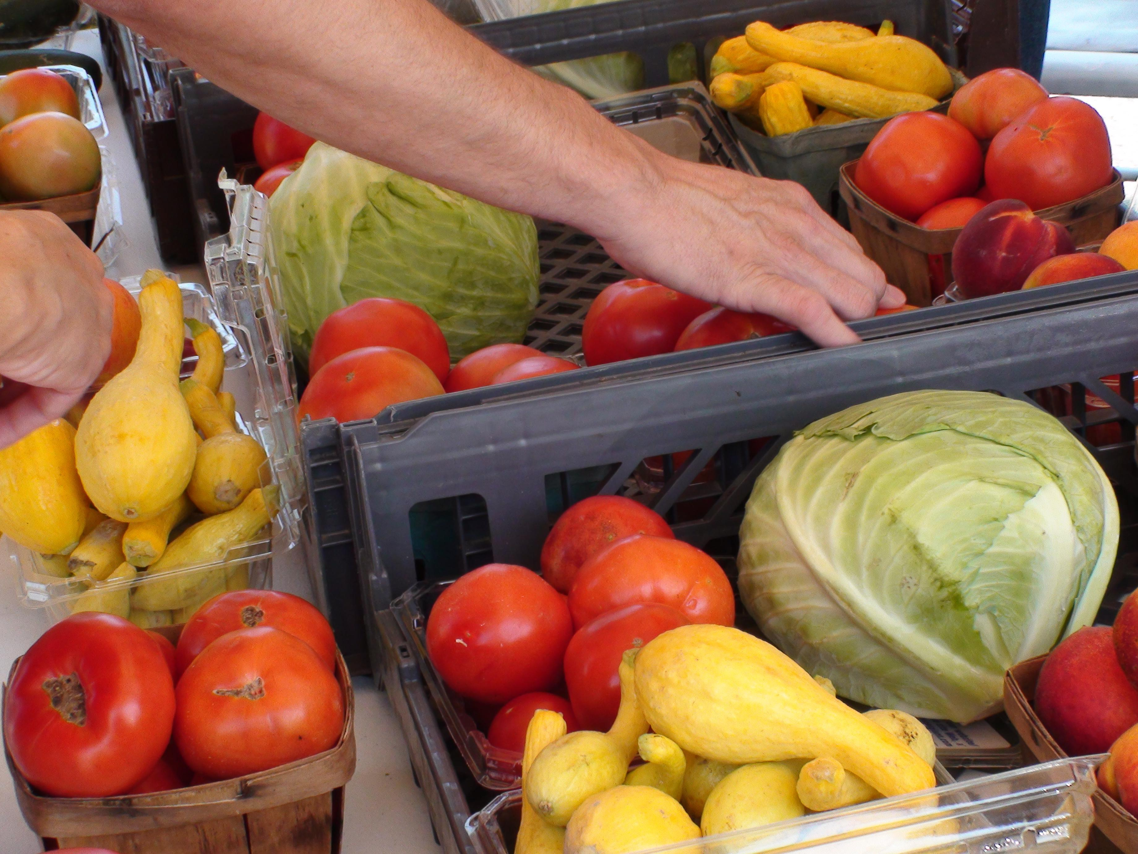 The Burbank Certified Farmers Market offers a variety of fruits and vegetables freshly grown by local farmers.