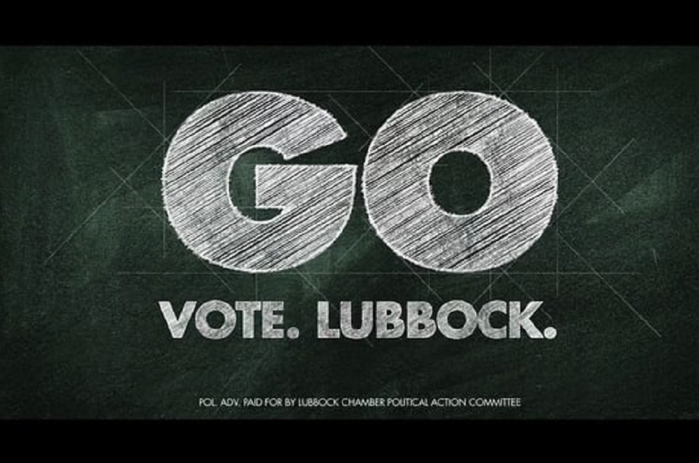 Lubbock attracted the association's attention with its Go Vote Lubbock campaign.