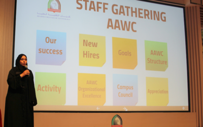 AAWC welcome new staff in recent event to start the academic year