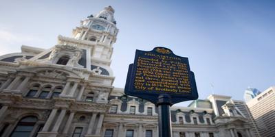 Philadelphia City Hall, home of the county's court of common pleas