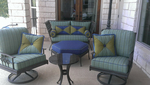 Old furniture can be given new life very cost-efficiently through re-upholstery.