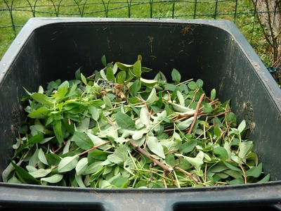 Green waste composting