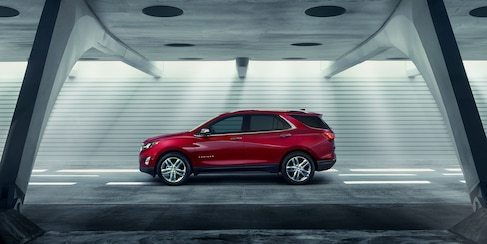 The 2018 Chevrolet Equinox has a spacious interior with room for both passengers and luggage.
