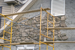 Stone veneer provides the look of natural stone at a fraction of the weight.