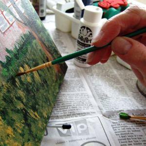 Medium paintingart