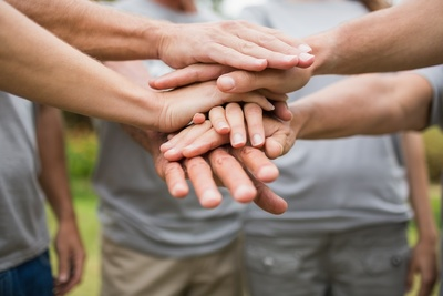 Team building is one of the many benefits volunteering can provide.