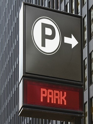 Large park sign garage1