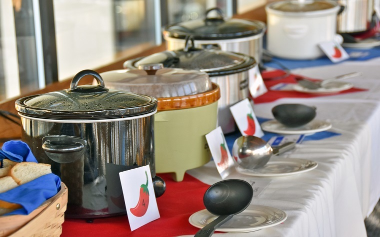 The Chili Cook-off will be held on Friday, November 18.