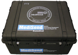 MediSend International sent two of its MediSend Mobile Biomedical Equipment Test and Repair Kits to Liberia and Sierra Leone to help repair and maintain life-saving equipment in the country.