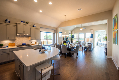 Wilshire Homes offers open smart, flexible homes in both single- and two-story options.