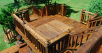 A good deck creates living space in the outdoor areas of a property.