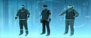 Concepts for the future of first response personnel.